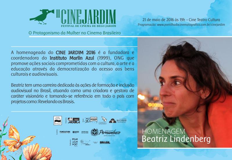 cine jardim 2016 homenagem Correto