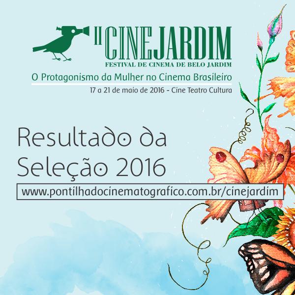 cine jardim 2016 resultado