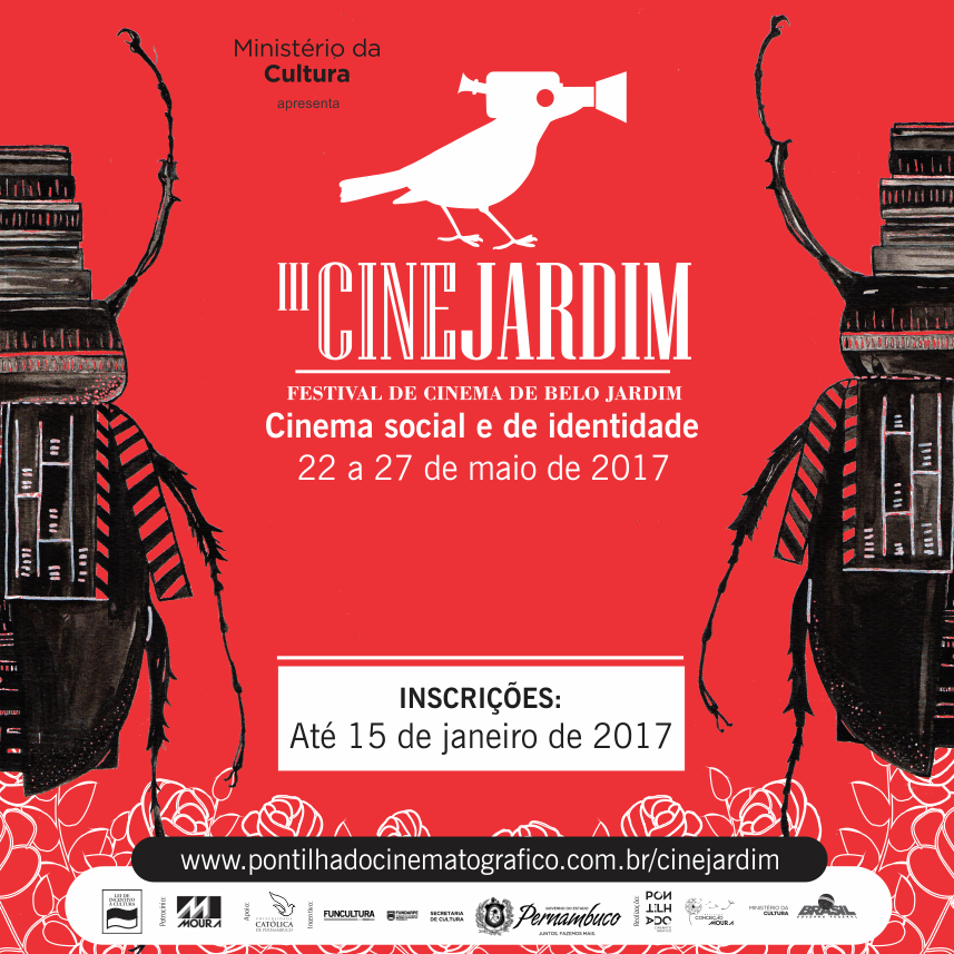 Divulgação cine jardim 2017